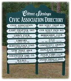 Citrus Springs Florida Directory